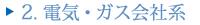 2.電気・ガス会社系